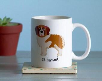 St. Bernard Mug (girl)