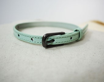 Turquoise Recycled Bracelet/Cuff for your Scarf