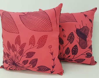 Cushion cover - Waterlily Design by Eva Nganjmirra