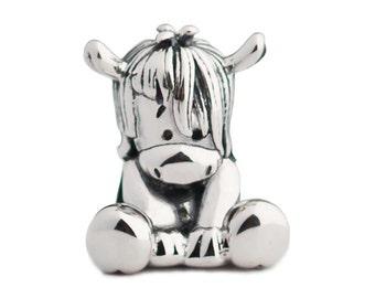 fb259c676 NEW - Horse Pony Sterling Silver Charm Bead S925, Aurora Cute Horse Donkey  Pony Charm