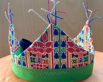 Handmade Crown, pretend play, waldorf, modern, simple treasures