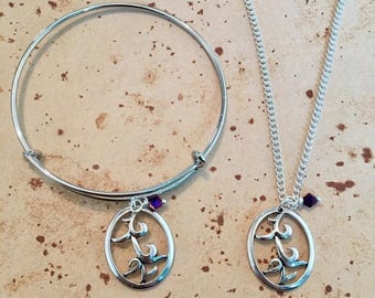 Parabatai Rune Bangle, Necklace, Keyring or Set