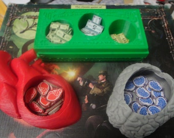 Token Holder Game Gear for Arkham Horror, Eldritch Horror, Mansions of Madness, Elder Sign and more