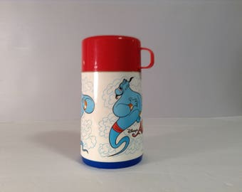 Aladdin Thermos Genie Hot OR Cold Beverages VGC CUTE