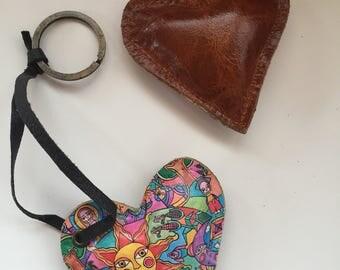 Key chain / KeyRing leather