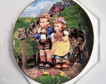 """Hummel """"Country Crossroads"""" Plate/ Collectible Plates"""