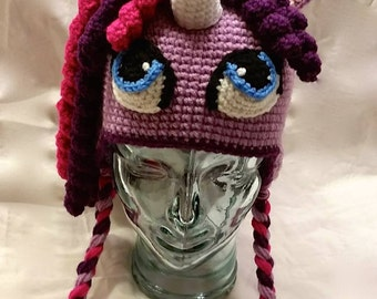 Unicorn hat - Pony hat - Toddler/youth/adult sizes available