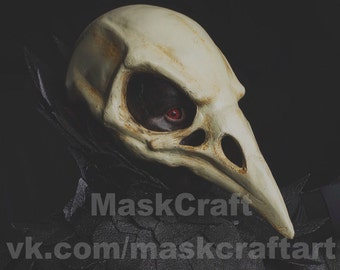 Bird skull mask by Maskcraft