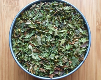 Peppermint Loose Leaf Tea & Hand-filled Teabags