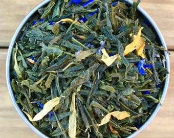 NEW! Blueberry Pineapple Loose Leaf Tea & Hand-Filled Tea Bags