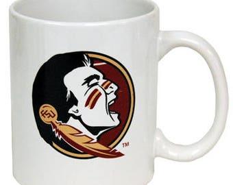 White Florida State ceramic coffee mug