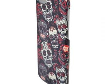 Colorful skulls - iPhone 6 case