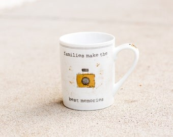 Families make the best memories MUG