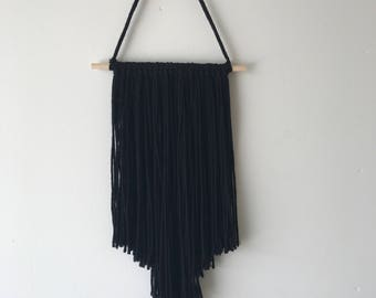 All Black Wall Hanging Home Decor