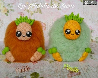 Art Toy, Art doll Pinito and Piñita