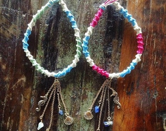 Best Friends By the Sea Car Charms