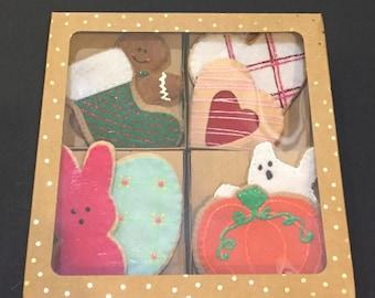 Felt Holiday Cookie set