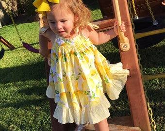 Lemonpop Sundress toddler/girls