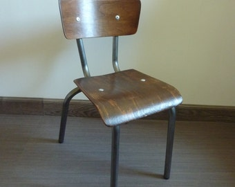 Mullca Chair, vintage 1960s renovated