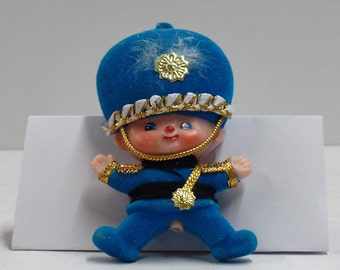 Vintage British Toy Soldier Plastic Ornament/Figurine