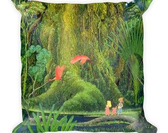 Secret of Mana Tree Pillow