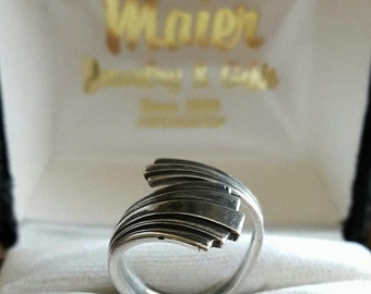 Vintage Sterling Silver Cellini Sterling Spoon Ring
