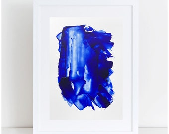 Original Abstract Painting, Abstract Art, Blue Art, 5x7 Painting, Small Acrylic Painting, Blue Painting, Original Art, Acrylic Painting