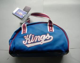 Champion vintage Sacramento Kings NBA basketball  ladies bowling bag new with tags