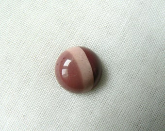 Banded Mookaite cabochon - P334 Gemstone round
