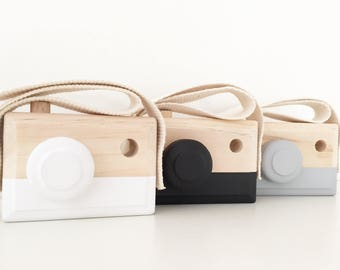 Wooden Cameras - Nursery, kids room decor / wooden toy
