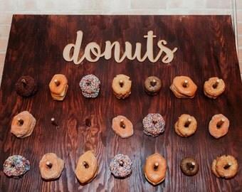 Donuts Cutout