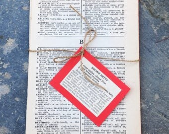 1938 Vintage Dictionary Pages for Art Journaling