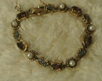 A Very Pretty Slide Charm Bracelet