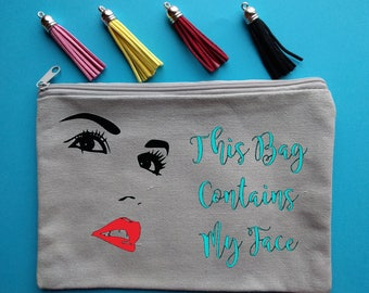 Cosmetic Bag, Personalized Cosmetic Bag, Bridesmaid Cosmetic Bag, Cosmetic Case, Cosmetic Pouch, Makeup Bag, Personalized Makeup Bag, Bride