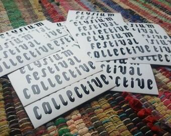 6 Elysium Stickers
