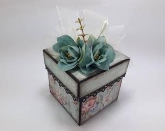 Scrapbook Handmade Gift Box #23