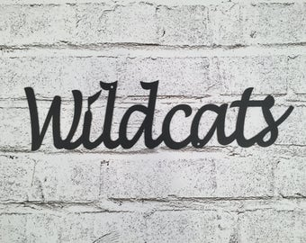 Wildcats Wall Sign