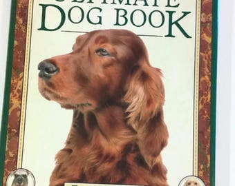 The Ultimate Dog Book by David Taylor  Hardcover/Coffee Table Book  Reference/Educational
