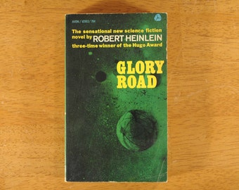 Glory Road, Robert Heinlein, Paperback Science Fiction, 1963- (Contact shop to request actual ship cost for multi items)