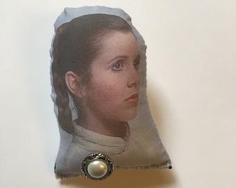 Princess Leia Puffy Pin