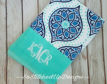 Personalized Beach Towels in fun prints, Monogrammed Beach Towels, Pool Towels, Mother's Day gifts, Graduation Gifts, Embroidered Towels