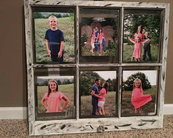 Rustic Picture Window