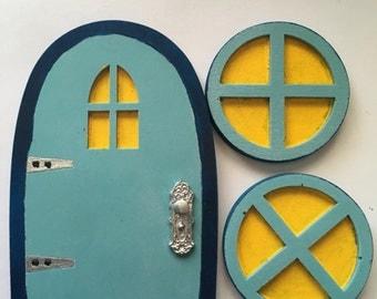 Fairy or gnome doors