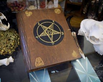 Book of Shadows,Sketchbook,Notebook, Baphomet,Samael,Sigil