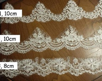 Lace Trim Options for Custom Veil Orders  **(This is not a selling listing, please don't put an order through this listing)