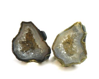 Baby Geode set #239, Jewelry, Dollhouse Miniatures, Home Decor