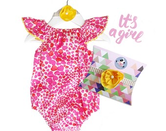 Babyshower gift, 3-part, girls, present for the birth, baptism gift, baby gift set, first birthday, 1st birthday