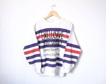 On Sale!! Vintage PENDORA Multicolor Jumper Pullover Sweatshirt Women Style