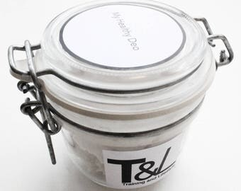 Deodorant Raw Organic  | Zero waste