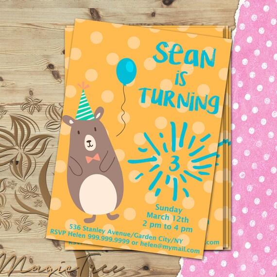 benutzerdefinierte junge einladung kindergeburtstag custom, Einladung